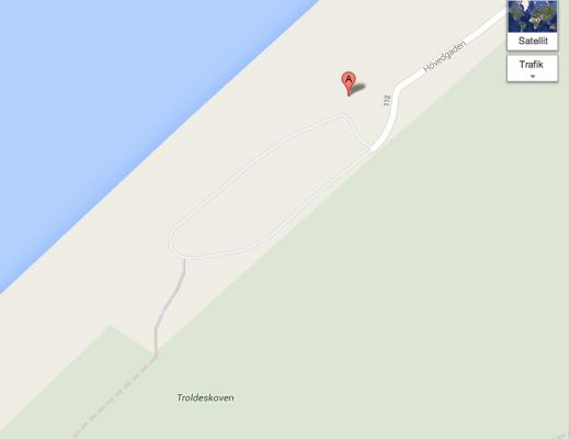 Tisvilde strand map