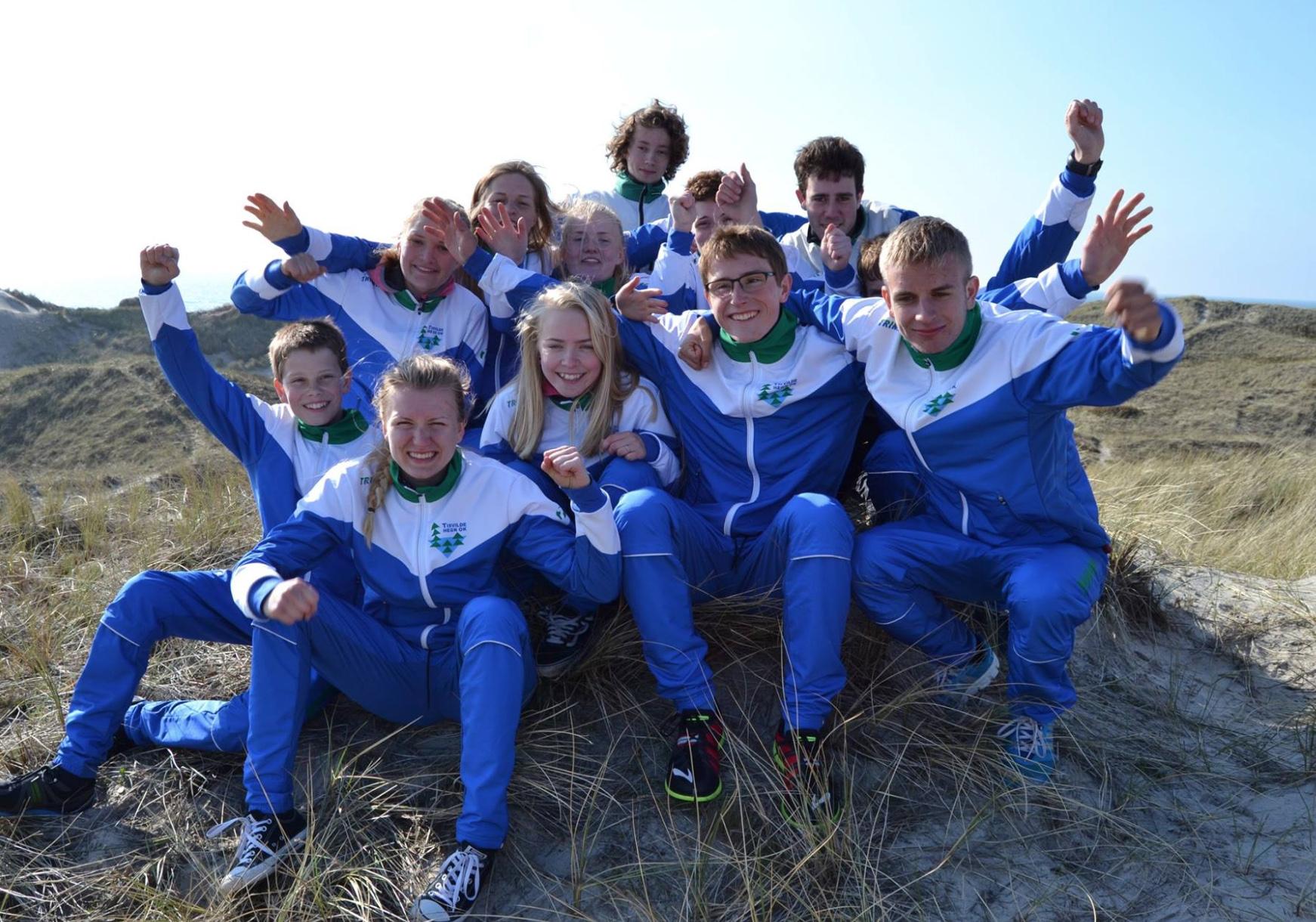 Børn og unge i Tisvilde Hegn Orienteringsklub